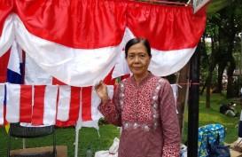 Penjaja Bendera Agustusan Makin Marak