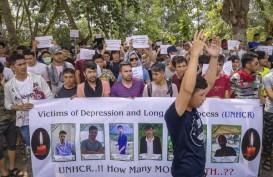 Imigran di Kepri Ambil Sikap Dihari Kelima Demo