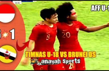 AFF U18: Indonesia Hajar Brunei 6-1, Terus Ditempel Myanmar. Ini Videonya
