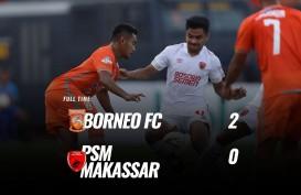 Borneo FC vs PSM Makassar 2-0, Borneo Dekati Posisi 5 Besar. Ini Videonya