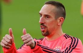PSV Eindhoven Bidik Eks-Bayern Munchen Franck Ribery