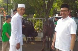 Gelar Qurban, Bisnis Indonesia Gandeng Takmir Masjid Nurul Huda Karet Tengsin