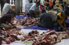 Dispangtan Kota Bandung Terjunkan Petugas Pemeriksa Kualitas Daging Kurban