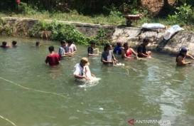 Meski Sudah Dilarang, Warga Masih Mencuci Jeroan di Selokan Mataram