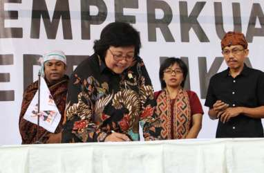 Perayaan 20 Tahun Masyarakat Adat Nusantara, Siti Nurbaya: Jokowi Menyayangi Masyarakat Hukum Adat