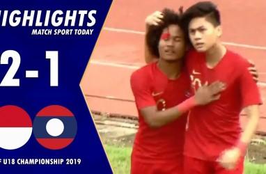 AFF U18: Indonesia Tekuk Laos 2-1, Lolos ke Semifinal. Ini Videonya