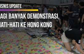 Suasana Bandara Hong Kong yang Dikepung Demonstran