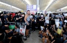 Otoritas Bandara Hongkong Batalkan Semua Penerbangan Senin, 12 Agustus