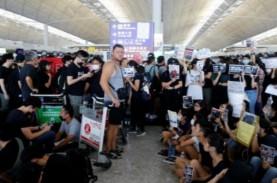 Otoritas Bandara Hongkong Batalkan Semua Penerbangan…
