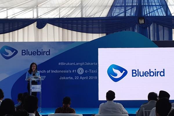 Presiden Direktur Blue Bird Group Holding Noni Purnomo. - Bisnis/Rinaldi M. Azka