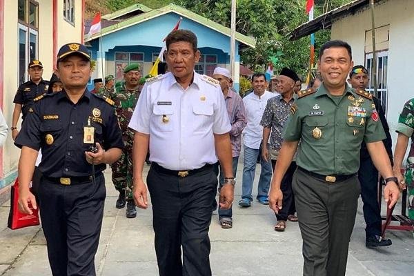 Sinergi Bea Cukai Tual Bersama Pangdam XVI Pattimura dan Bupati Maluku Tenggara
