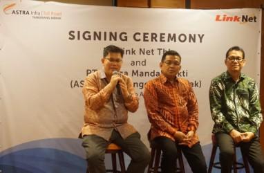 Perluas Jangkauan di Banten, Link Net (LINK) Gandeng Astra Infra
