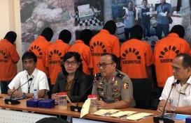 Bareskrim Polri Tangkap 10 Tersangka Jual-Beli Ilegal Bibit Lobster di Lampung