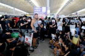 200 Penerbangan Dibatalkan Meski Bandara Hong Kong…
