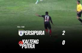 Liga 1: Persipura vs Kalteng 2-0, Persipura Melejit ke Posisi 9. Ini Videonya