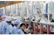 Pertumbuhan Output Industri China Melemah
