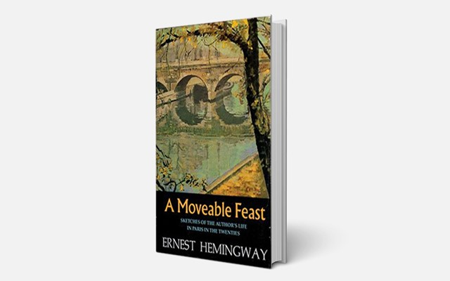 Buku A Moveable Feast karya Ernest Hemingway yang pertama kali diterbitkan pada 1964 - Sumber: Variety