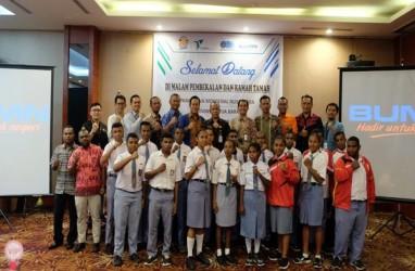 Pelindo IV Kirim 20 Siswa Papua Barat ke Program Mengenal Nusantara