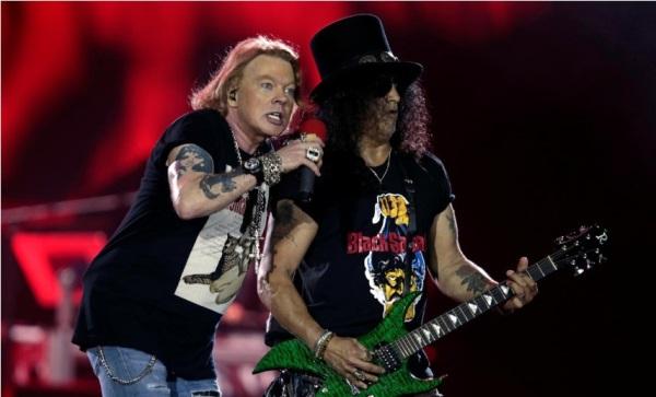 Guns N' Roses. - Reuters