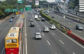 JALAN BEBAS HAMBATAN JAKARTA : ADHI Garap Konstruksi Segmen B Tol Dalam Kota
