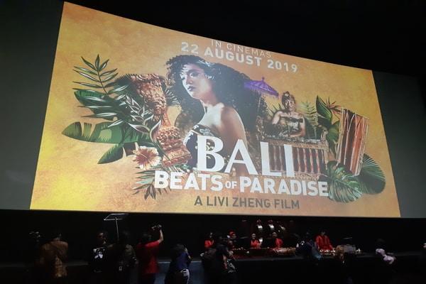 Studio Bioskop Pemutaran Film Bali: Beats of Paradise di CGV Grand Indonesia Rabu (14/8 - 2019) / Ria Theresia Situmorang