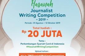 BNI Syariah Tantang Jurnalis Ikuti 'Hasanah Journalist…