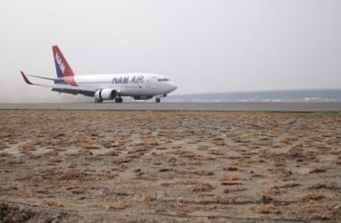 Runway 3 Bandara Soekarno-Hatta Sukses Didarati NAM Air