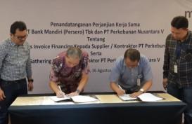 Bank Mandiri Teken Kerja Sama Pembiayaan bagi Mitra PTPN V