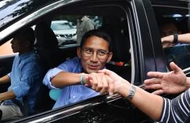 Sandiaga Uno Jalan Kaki Saat Hadiri Sidang Tahunan MPR