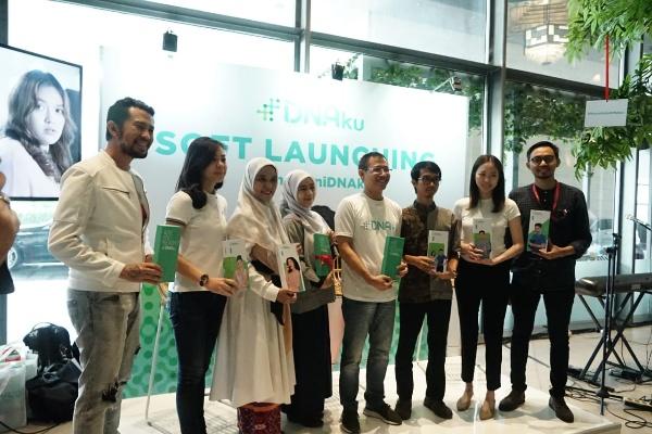 Peluncuran DNAku adalah layanan pemeriksaan genetik berbasis internet pertama di Indonesia yang menerjemahkan informasi DNA menjadi profil genetik yang mudah dipahami. - Rika Anggreni
