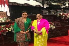 Menteri Sri Mulyani dan Retno Marsudi Pakai Kebaya,…