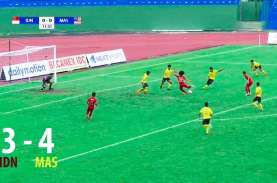AFF U18: Indonesia Ditekuk Malaysia 3-4, Jumpa Myanmar…