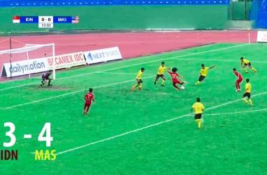 AFF U18: Indonesia Ditekuk Malaysia 3-4, Jumpa Myanmar untuk Juara III. Ini Videonya