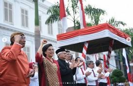 Makna Kebaya Merah Sri Mulyani di HUT Kemerdekaan ke-74 RI