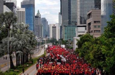 Demo Buruh: Kompolnas Diminta Rekomendasikan Penindakan terhadap Polisi yang Represif