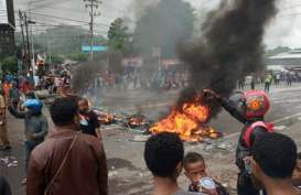 Tiga Anggota Polisi Kena Lemparan Batu di Manokwari Papua Barat