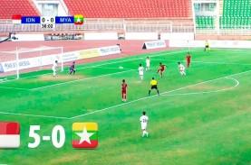 AFF U18: Indonesia Hajar Myanmar 5-0, Raih Juara III…
