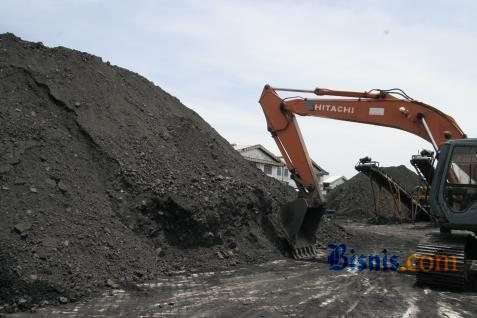Ilustrasi pertambangan batu bara - JIBI