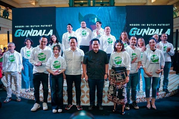 Peluncuran Jagat Sinema Bumilangit Jilid 1 dan perkenalan Aktor-Aktris Pemeran di Plaza Senayan Jakarta, Minggu (18/8 - 2019) / Screenplay Bumilangit