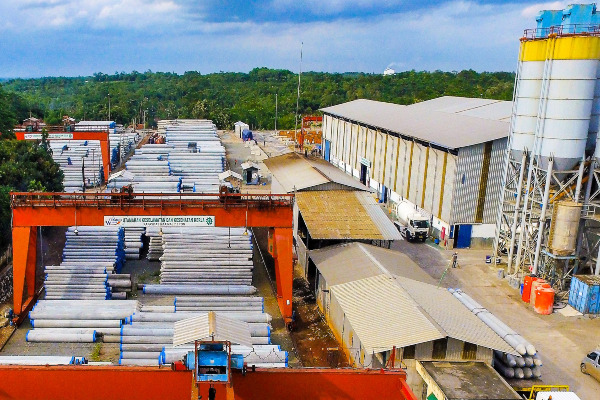 Pabrik PT Waskita Beton Precast Tbk. di Kalijati - web.waskitaprecast.co.id