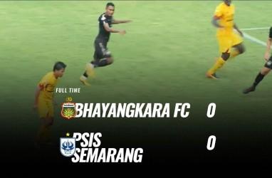 Bhayangkara FC vs PSIS 0-0, Ini Videonya