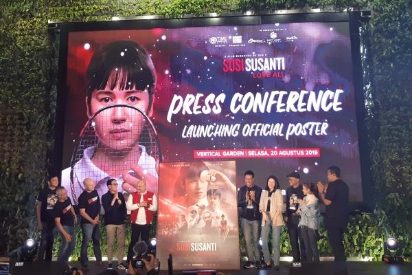 Film Susi Susanti-Love All Rilis Poster dan Lagu Tema - Bisnis/Tika Anggreni Purba