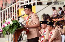 Ridwan Kamil Ajak Pramuka Jadi Agen Perdamaian