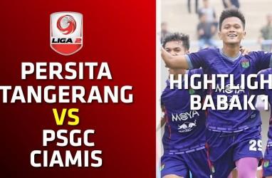 Liga 2: Persita Tangerang Tekuk PSGC Ciamis 1-0, Ini Videonya