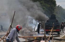 Polisi Tetapkan 35 Tersangka Kericuhan Papua Barat