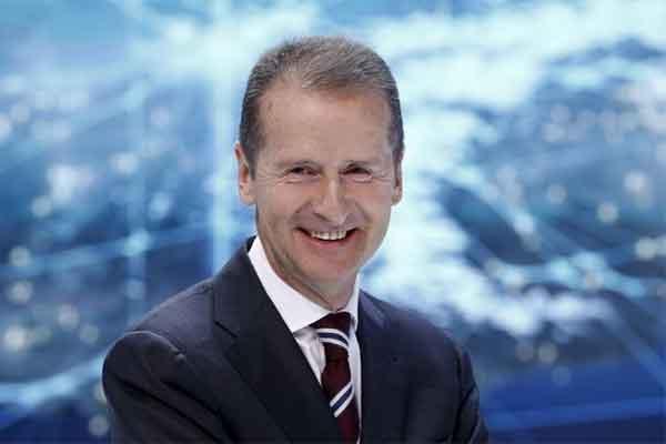 Herbert Diess, Chairman of the Board of Volkswagen Brand. - Reuters
