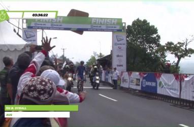 Tour de Indonesia 2019: Benjamin Dyball Juarai Etape 5 Gilimanuk-Batur. Ini videonya