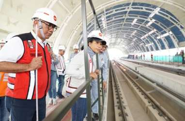 Menteri BUMN : LRT Cawang-Cibubur Beroperasi Akhir Oktober 2019