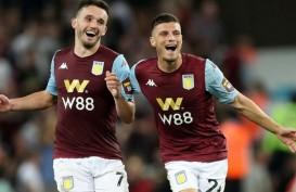 Hasil Liga Inggris : Aston Villa Petik 3 Poin vs Everton