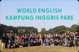 Jumlah Pendaftar 'World English' di Kampung Inggris…